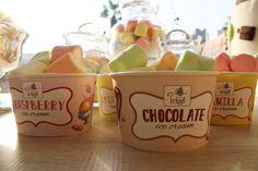 #albabasweets #display #icecream #marshmallow #cones
