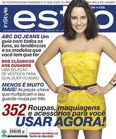 Edição 64 - Janeiro de 2008 - Fernanda Vasconcellos