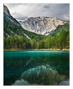 Grüner See – búvárkodás az ausztriai elárasztott völgyben Alpine Style, Green Lake, Vacation Places, Far Away, Travel Destinations, Places To Go, Travel Photography, Beautiful Places, Germany