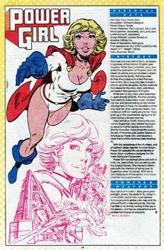 Joe Staton power girl whos who Star Comics, Dc Comics Superheroes, Dc Comics Art, Comic Book Characters, Comic Books Art, Comic Art, Gi Joe, Power Girl Comics, Power Girl Dc