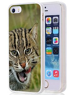 Iphone case,Fishing Cats Wild Cats Predator For Clear TPU Case for Apple Iphone Buy Iphone, Iphone Se, Apple Iphone 5, 5s Cases, Predator, Fishing, Amazon, Cats, Amazons