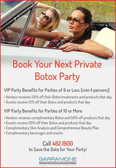 Fort Myers Botox Party-Dr. Ralph Garramone-Events & Private Parties