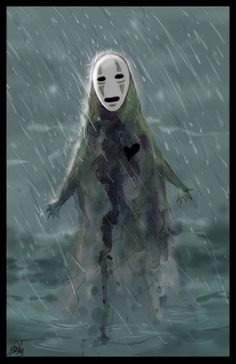 No Face. if you haven't seen Spirited away, drop what your doing, and go watch it. now.