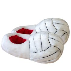 Volleyball slippers.