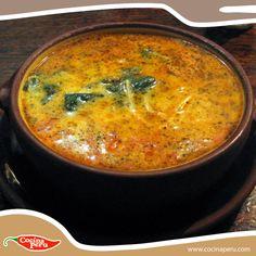 Sopa Criolla... cocina peruana.