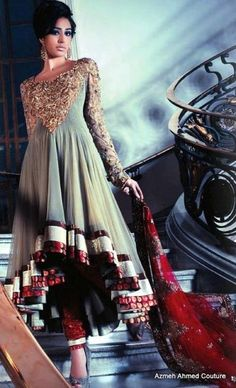Latest Asian Fashion Engagement Dresses Designs Collection for Wedding Brides 2015-2016 (25)
