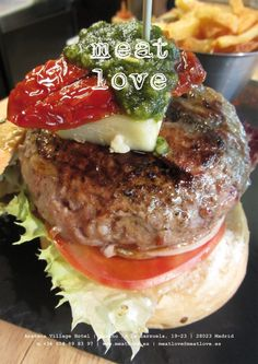 meat love | ¡planes de fin de semana! ¡hamburguesas exquisitas y mucho más! ¿no te parece irresistible?