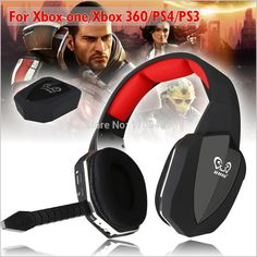 HUHD HW 399M 2 4Ghz Optical Wireless Gaming Headset Surround Sound Stereo Game Headphone With MIC
