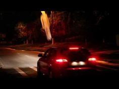 Guerrilla Ghost Installation Scares Speeders To Slow Down