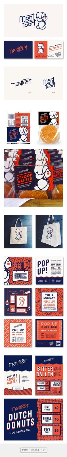 Good design makes me happy: Project Love: Montfoort. - a grouped images picture Corporate Design, Brand Identity Design, Graphic Design Branding, Logo Branding, Typography Design, Brand Design, Corporate Identity, Brochure Design, Watercolor Logo