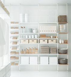 IKEA Sneak Peek | 15+ New Things Coming in August! | Poppytalk . ELVARI shelving series The ELVARLI storage system is pretty cool with it's adaptable open storage that's beautifully designed and works both for home and business.