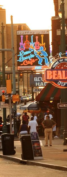Memphis, Tennessee -- love it!! It's like a mini New Orleans!