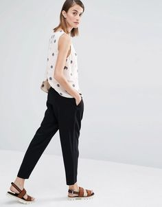 Image 4 ofSelected Fria Spot Print Shell Top