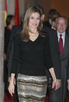 April 2, 2014.... Princess Letizia of Spain
