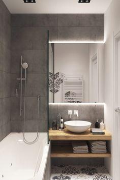 10 Small Bathroom Ideas for Minimalist Houses - # Check more at badezimmer. - 10 Small Bathroom Ideas for Minimalist Houses – # Check more at badezimmer. Small Bathroom Remodel Cost, Small Bathroom Tiles, Bathroom Design Small, Bathroom Interior Design, Bathroom Flooring, Bathroom Renovations, Modern Bathroom, Bathroom Mirrors, White Bathroom