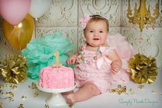 Pink and Mine Baby Romper Headband Necklace SET, Pink and Mint Baby Lace Romper And Baby Headband, Baby Outfit, Baby Photo Prop by PrettyBabyBowtique on Etsy https://www.etsy.com/listing/224475059/pink-and-mine-baby-romper-headband
