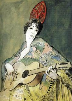 Francis Picabia, Espagnole a la Guitare (1926-27)