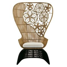 B&B ITALIA - CRINOLINE - HIGH ARMCHAIR - B&B ITALIA OUTDOOR - B&B ITALIA OUTDOOR - Collections