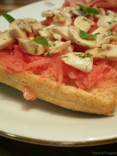 Pan com tomate