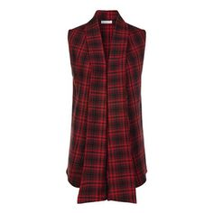 Windsor Flannel Vest Red, $12.50, now featured on Fab.