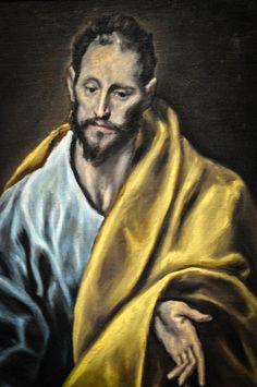 El Greco    Saint James the Less, 1614 at Art Institute of Chicago IL