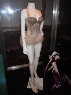 Burlesque Good Girl Christina Aguilera costume. Halloween costume! gotta get on my workout grind