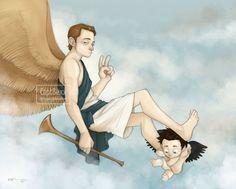 Gabriel and Cas