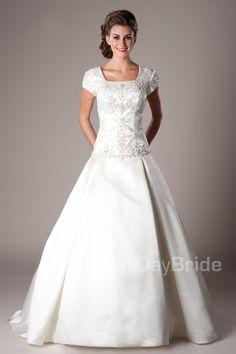 Modest Wedding Dresses : Escalante