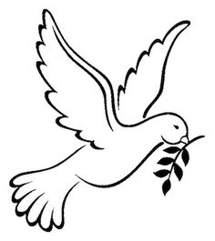 Dove Symbolism, Pictures of Dove Symbols and their Meanings Peace Dove Tattoos, Small Dove Tattoos, Dove Outline, Bird Outline, Tattoos Skull, Feather Tattoos, Tattoo Bird, Dove Symbolism, Hand Applique