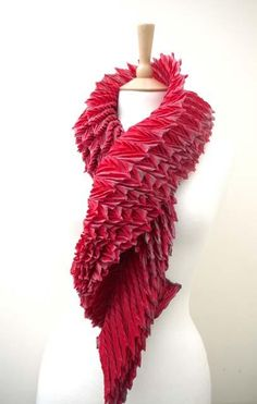 | Anne Selby - Sculptural scarf