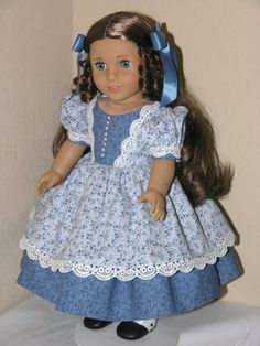 18 inch American Girl Doll Clothes Marie Grace Dress