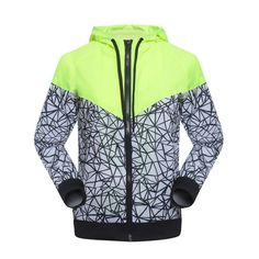 Spring Autumn new Women s sports jacket hooded jacket Women Fashion Casual  Thin Windbreaker Zipper Coats Free. Pánská BundaKabátky c2f003ad78a