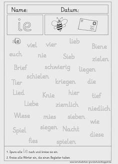 krabbelwiese: Arbeit mt Lauten | Kinder Schule | Pinterest