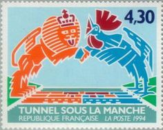 Channel Tunnel - Franco-British Joint Issue