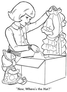 Coloring Book~Baby's Hungry - Bonnie Jones - Picasa Web Albums