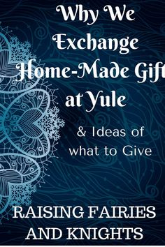 Why We Exchange Gifts at Yule - A great family tradition to start and the perfec. - Why We Exchange Gifts at Yule – A great family tradition to start and the perfect way to celebrat -