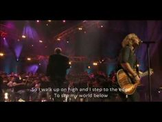 Collective Soul - The World I Know (Live performance with Lyrics)  I love intelligent music.
