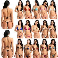 Find great deals for Women's Swimwear Micro Bikini Bra Mini G-string Thongs Monokini Bathing Swimsuit. Shop with confidence on eBay! Micro Swimwear, Brazilian Swimwear, Bikini Swimwear, Swimsuits, Bikini Set, Mini Bikini, Hot Pants, Monokini, Sexy Women