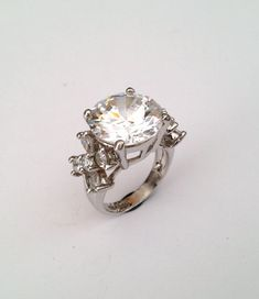 Vintage Sterling Silver Estate Jewelry Ring by WOWTHATSBEAUTIFUL