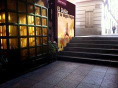 Cada día una foto de Palencia, realizada por ABBÉ NOZAL: Mi última novela expuesta al último rayo de sol