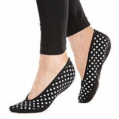 Nufoot Women's Ballet Barefoot Slippers :: Ballerina :: Shop now with FootSmart