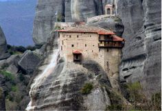 Travel the Meteora mountains,Greece Tourist Attractions Greece Tourist Attractions, Wonderful Places, Beautiful Places, Greece Tourism, Byzantine Architecture, City Sky, Worldwide Travel, Athens, Places To See