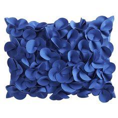 Petals Lumbar Pillow - Cobalt