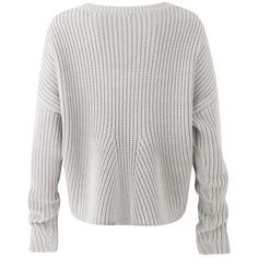 Amanda Wakeley Kinishba Mercury Oversized Sweater ($535) ❤ liked on Polyvore featuring tops, sweaters, leather sweater, crewneck sweaters, crew top, slimming tops and over sized sweaters
