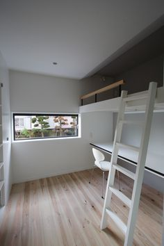 26 Trendy Home Wallpaper Design Spaces Tiny Apartments, Tiny Spaces, Small Rooms, Bunk Beds Built In, Low Loft Beds, Home Wallpaper, New Home Designs, Trendy Home, Bars For Home