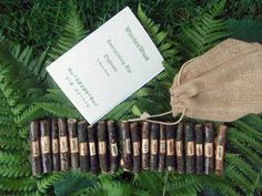 Oak Ogham Set: Corresponding Oghams, Celtic, Druid. $ 15.50, via Etsy.