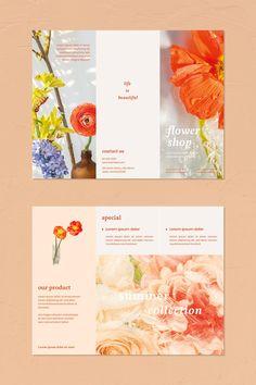 Graphic Design Brochure, Brochure Design Inspiration, Brochure Layout, Brochure Trifold, Brochure Ideas, Web Layout, Corporate Brochure, Business Brochure, Leaflet Layout
