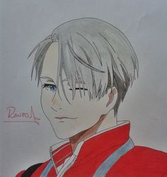 Draw Victor Nikiforov (Yuri on Ice)