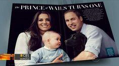 Vanity Fair celebrates Prince George's royal first birthday