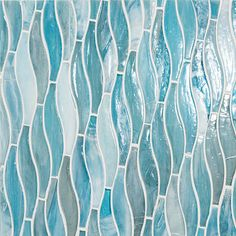 Vihara Collection - made with post-consumer glass, each tile is handmade of twisted tones, textures and hues that come together as one singularly beautiful mosaic. Beach House Bathroom, Beach Condo, Beach House Decor, Master Bathroom, Coastal Bathrooms, Beach Bathrooms, Chic Bathrooms, Condo Design, Mosaic Glass